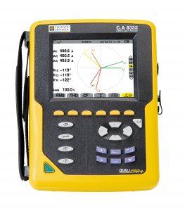 AMRA: Analizzatore di potenza e di qualità dell'energia C.A 8333