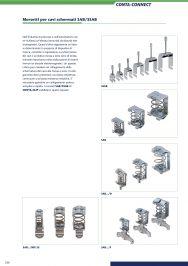 Morsetti per cavi schermati SAB/SSAB foto catalogo