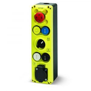 GIOVENZANA: pulsantiere d'ispezione e manutenzione SERIE GM
