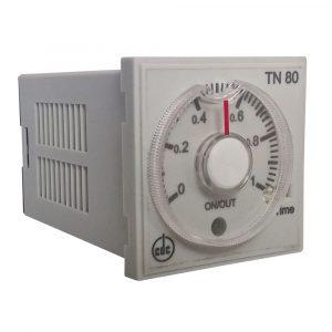 ELETTROMECCANICA CDC: TN80 timer multiscala, monofunzione, multitensione