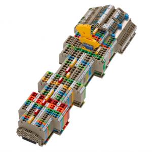 CONTA-CLIP: Sistema di collegamento a molla di compressione FRK e FSL a innesto rapido
