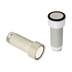 M.D. MICRO DETECTORS: Sensori ultrasonici cilindrici M30 con pulsante di Teach-In Serie UT e UTR