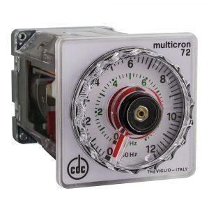 ELETTROMECCANICA CDC: 1400 Timer elettromeccanico con indice mobile, multiscala
