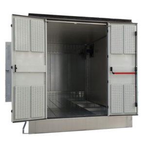 IMEB: Cabine di trasformazione per esterno Serie CEV e Serie CONTAINER