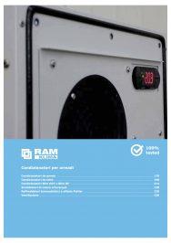 Ram Klima condizionatori per quadri, catalogo