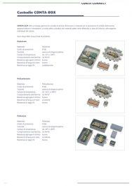 Catalogo custodie per morsetti