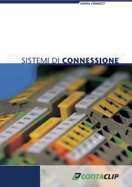 Conta-clip catalogo morsetti sistemi di connessione